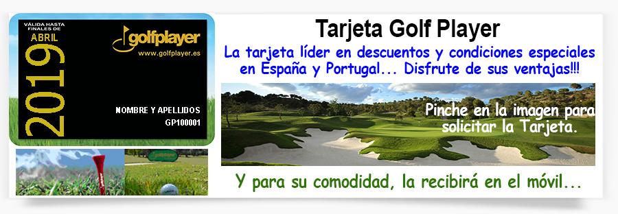 Tarjeta Golf Player