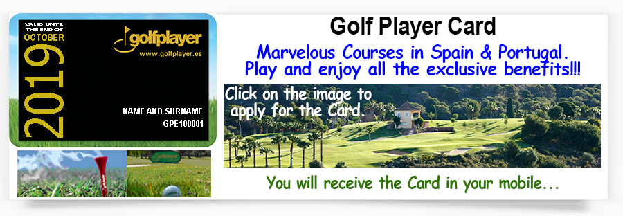 Golf Player Card