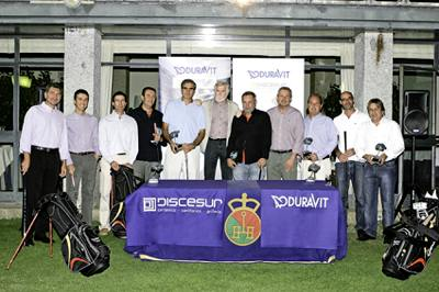 Golf player x torneo de golf discesur duravit - Discesur madrid ...